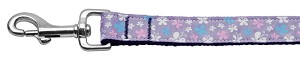 Butterfly Nylon Ribbon Collar Lavender 1 wide 6ft Lsh